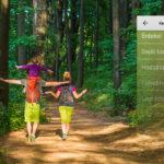 Természetjáró: interaktív útikönyv túrázóknak és kirándulóknak