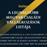 Forbes-lista: családi cégek