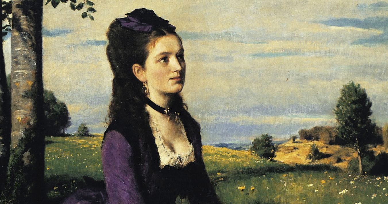 A Lilaruhás nő és egyéb történetek – 100 éve hunyt el Szinyei Merse Pál