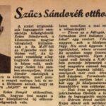 Egy hátvéd végzetes románca – 70 éve végezték ki Szűcs Sándort